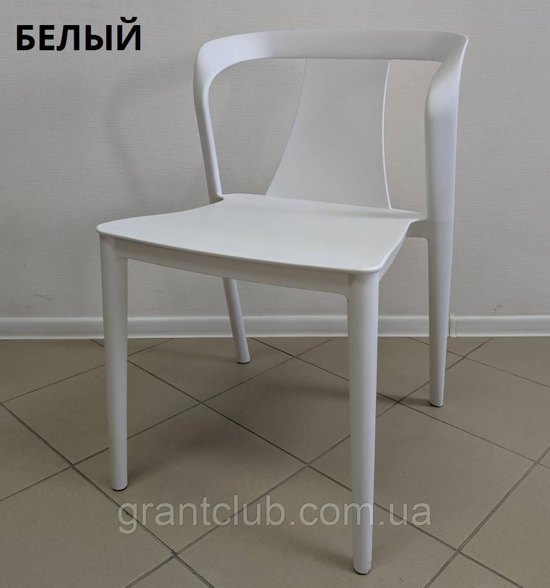 Cтул пластиковый IVA (Ива) белый полипропилен Nicolas