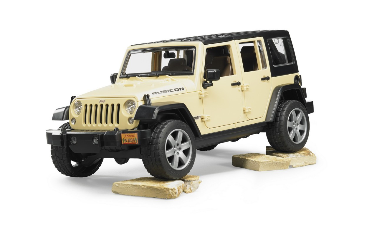 Внедорожник Jeep Wrangler Unlimited Rubicon Bruder 02525