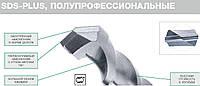 3 Полупрофессиональные буры торговой марки Hikoki под хвостовик SDS-Plus