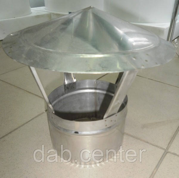 Грибок из нержавейки, диаметр 150 мм