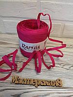 Рафія малинова декоративна водовідштовхувальна для декору і упаковки