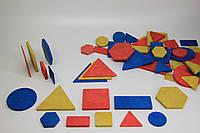 Логічні блоки Дьєнеша, 48 штук в картонній коробці