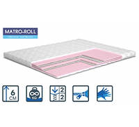 Матрас Matroluxe Matro-Roll-Topper Memotex Advance / Мемотекс Адванс двухсторонний