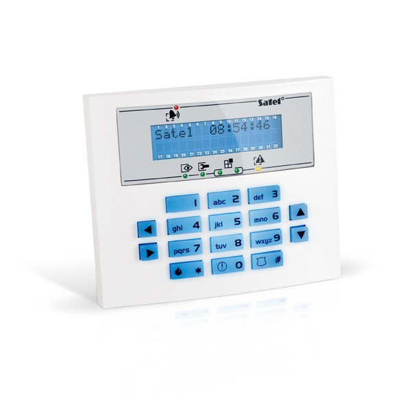 Проводная ЖКИ-клавиатура Satel INT-KLCDS-BL