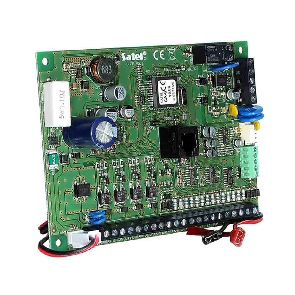 Плата приемно-контрольного прибора Satel CA-6 P