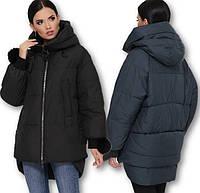 Женская объёмная куртка зима, фото 1