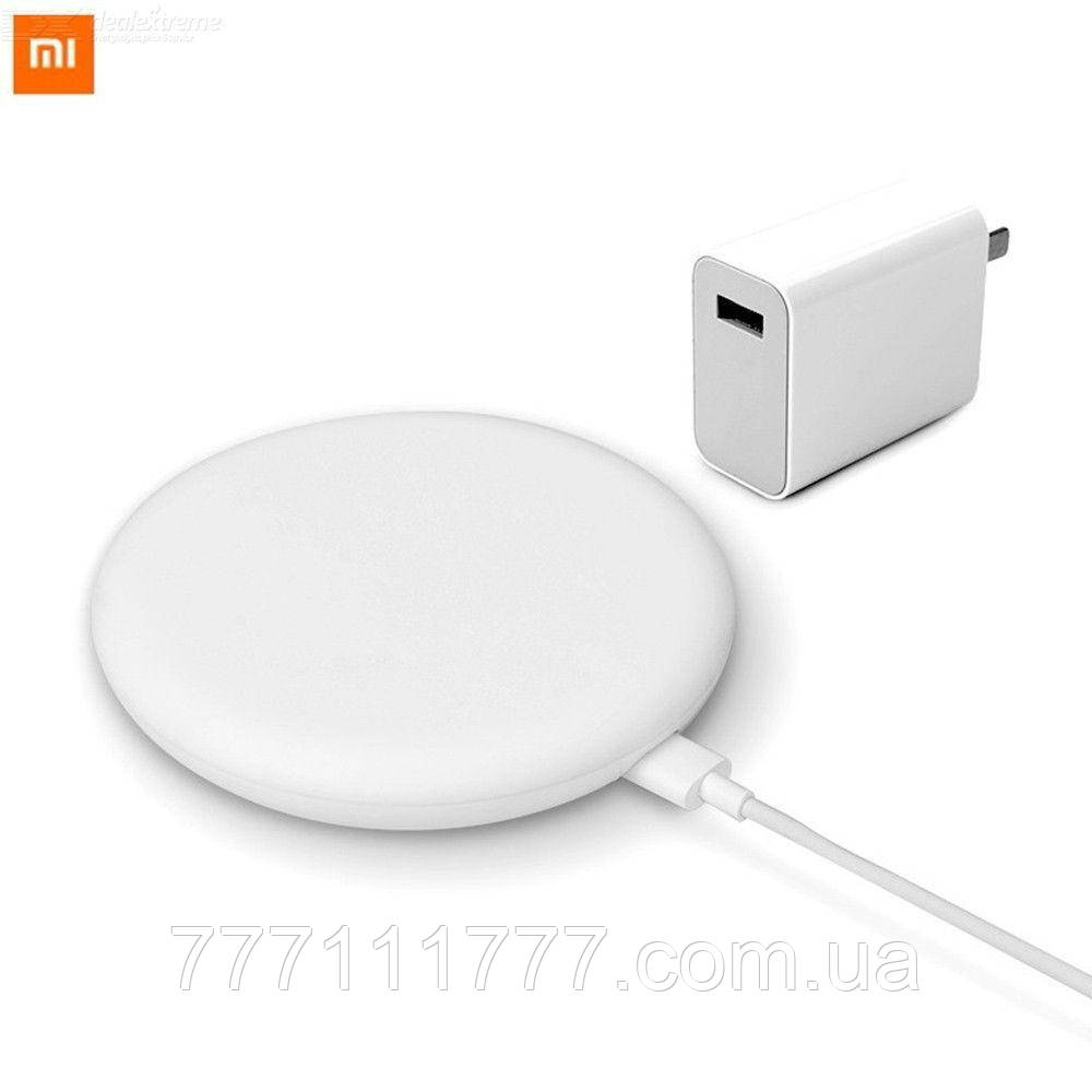 Беспроводная зарядка Xiaomi wireless charger 20W & Charger 2pieces suite White