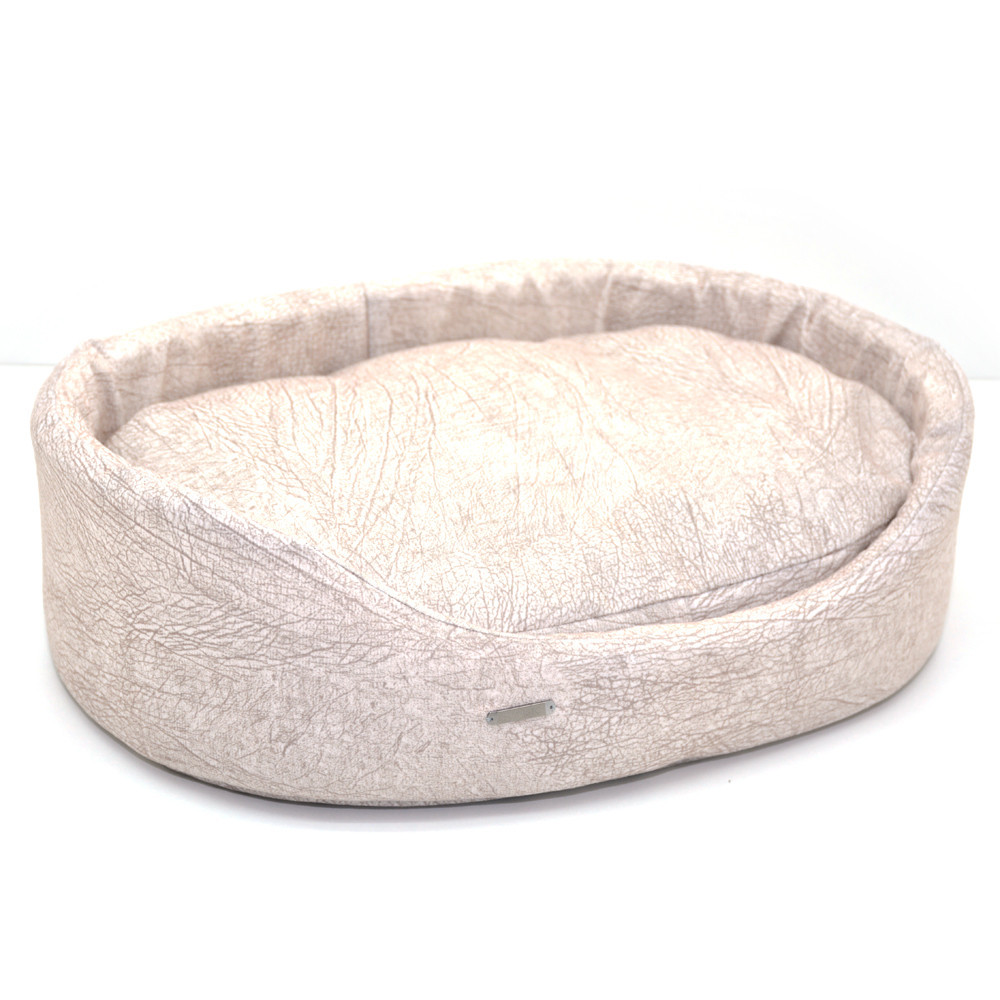 Лежак для собак и котов №3 425х560х135 бежевый