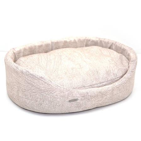 Лежак для собак и котов №3 425х560х135 бежевый, фото 2