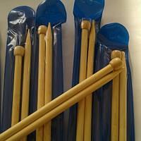 Спицы длинные бамбуковые №8,0
