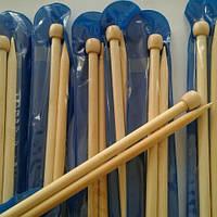 Спицы длинные бамбуковые №7,5