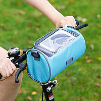 Сумка для велосипеда Genner  22х12х12 см Бирюзовая (02017/03)