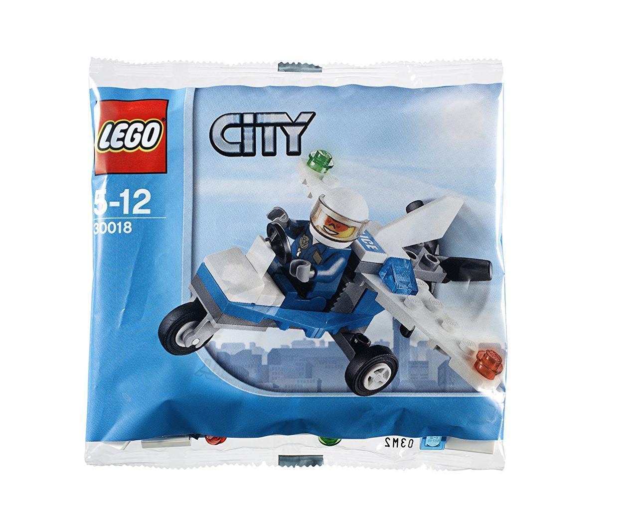 Lego City Полицейский самолет 30018