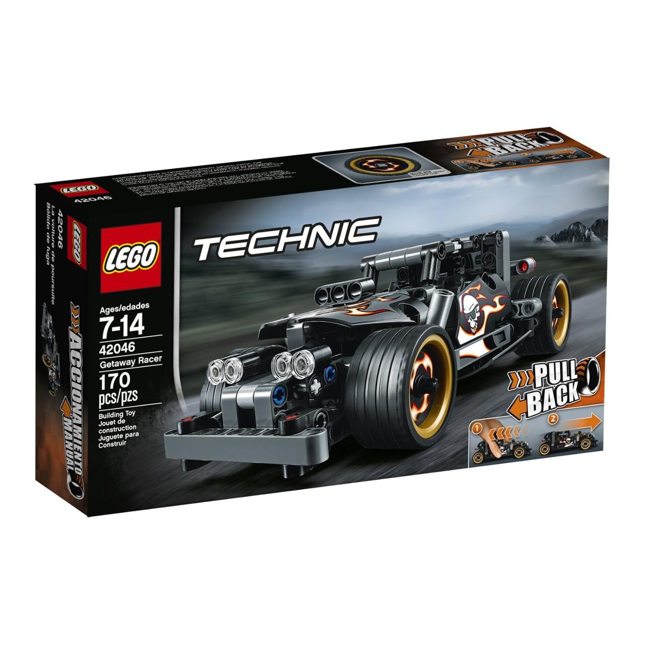 Lego Technic Гоночный автомобиль для побега 42046