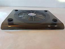 Прозрачная охлаждающая подставка под ноутбук Fan Laptop Cooler RX-830, подставка для ноутбука с охлаждением