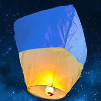 """Небесный фонарик """" Флаг Украины """""""