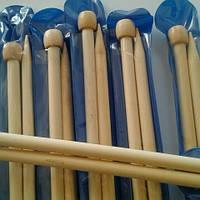Спицы длинные бамбуковые №10,0