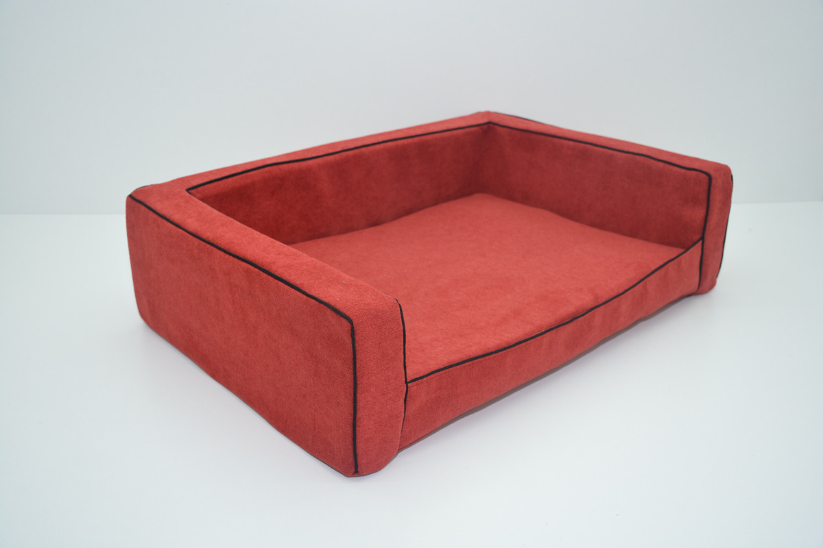 Диван для собак Мираж №6 800х1200х250  красный