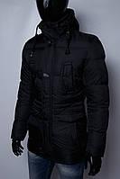 Пуховик мужской FR 6161 черный