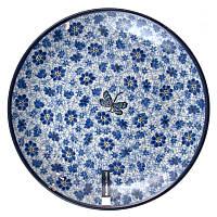 Тарелка обеденная Польша Керамика Артистична Стрекоза 24 см