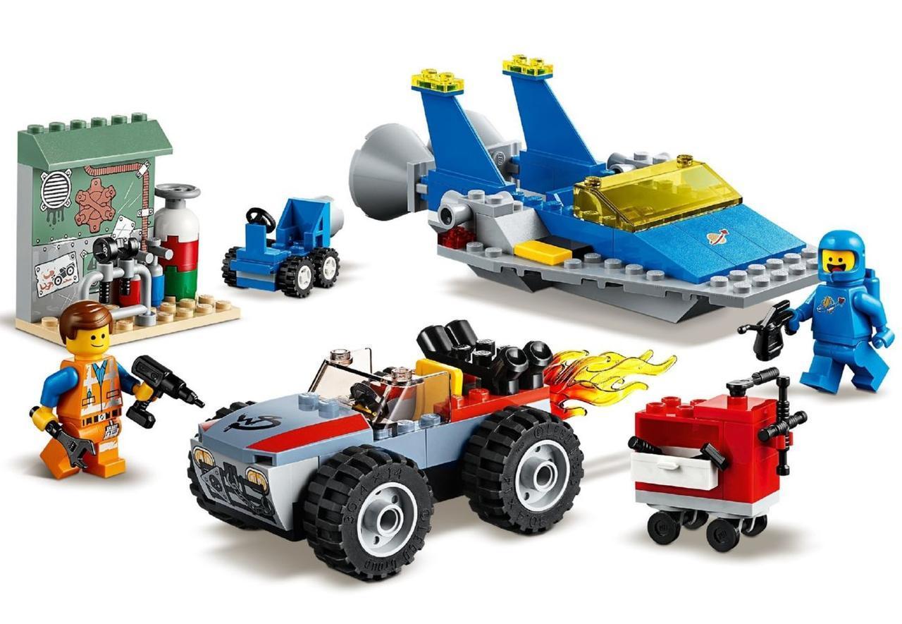Lego Movie 2 Мастерская «Строим и чиним» Эммета и Бенни! 70821 ...
