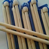 Спицы длинные бамбуковые №12,0
