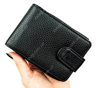 Женский кошелек-картхолдер для карточек Черного цвета