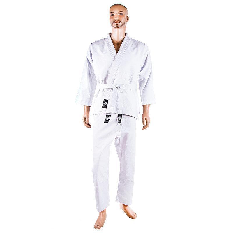 Кимоно для дзюдо, белое, 8oz, рост 190