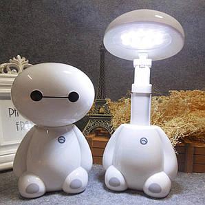 Детский светильник ночник на аккумуляторе LED Baymax