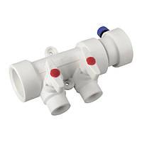 Коллектор полипропиленовой системы водоснабжения 2-way с кранами KOER