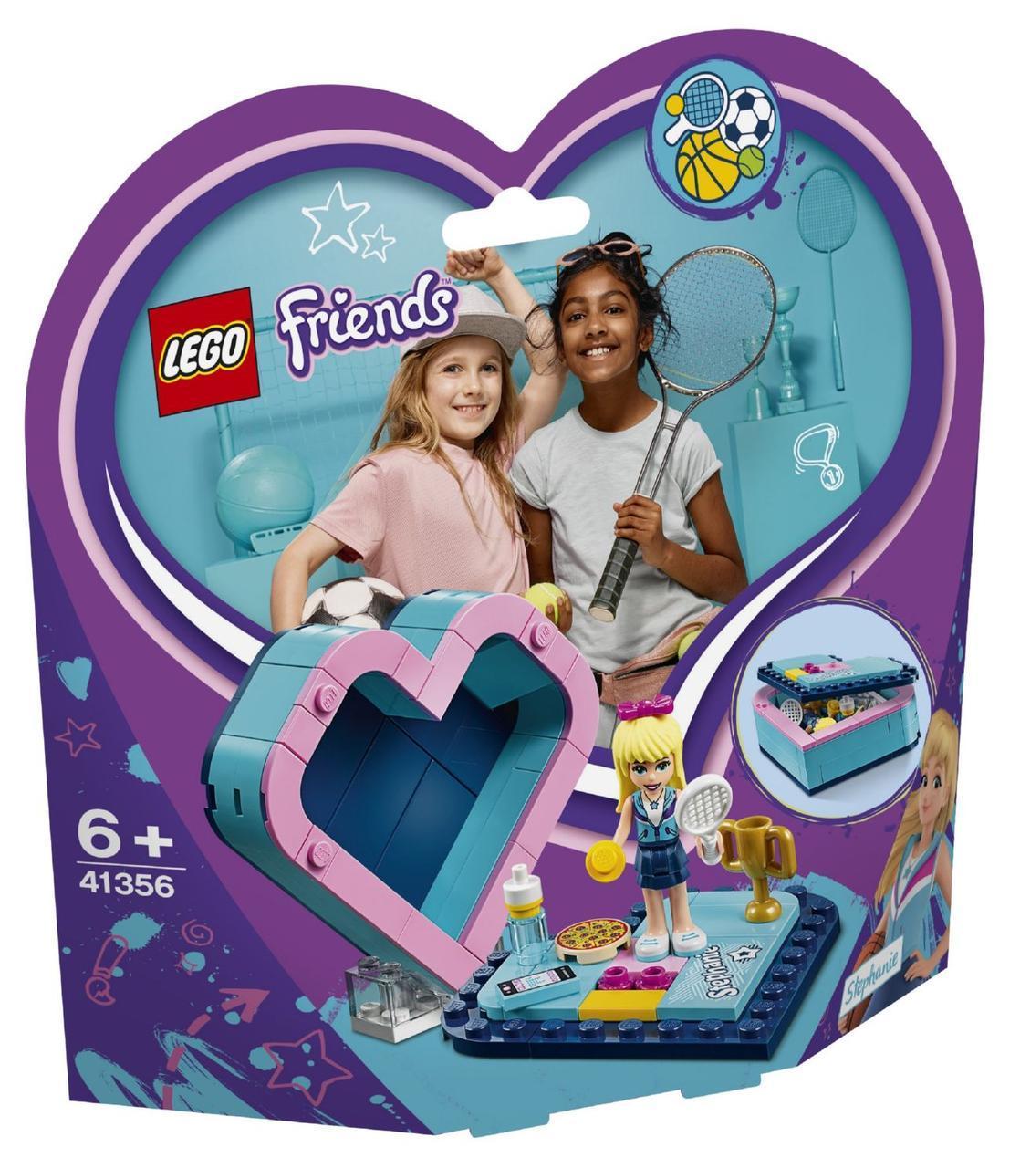 Lego Friends Шкатулка-сердечко Стефани 41356