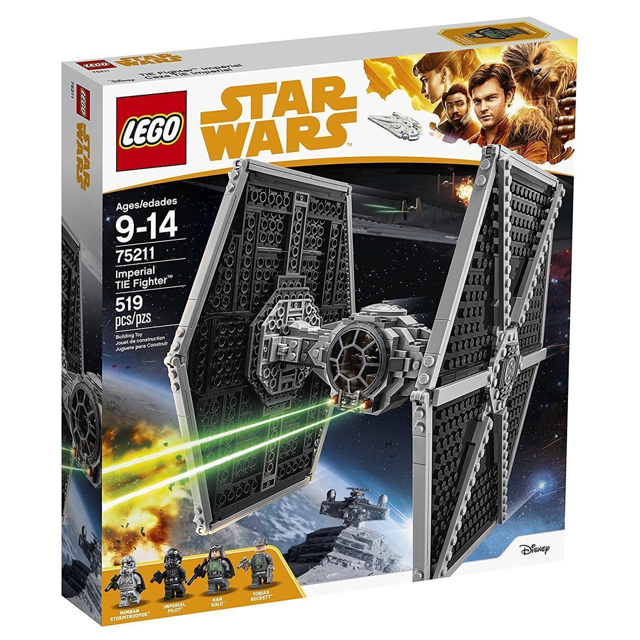 Lego Star Wars Имперский истребитель TIE 75211