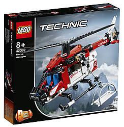 Lego Technic Спасательный вертолёт 42092