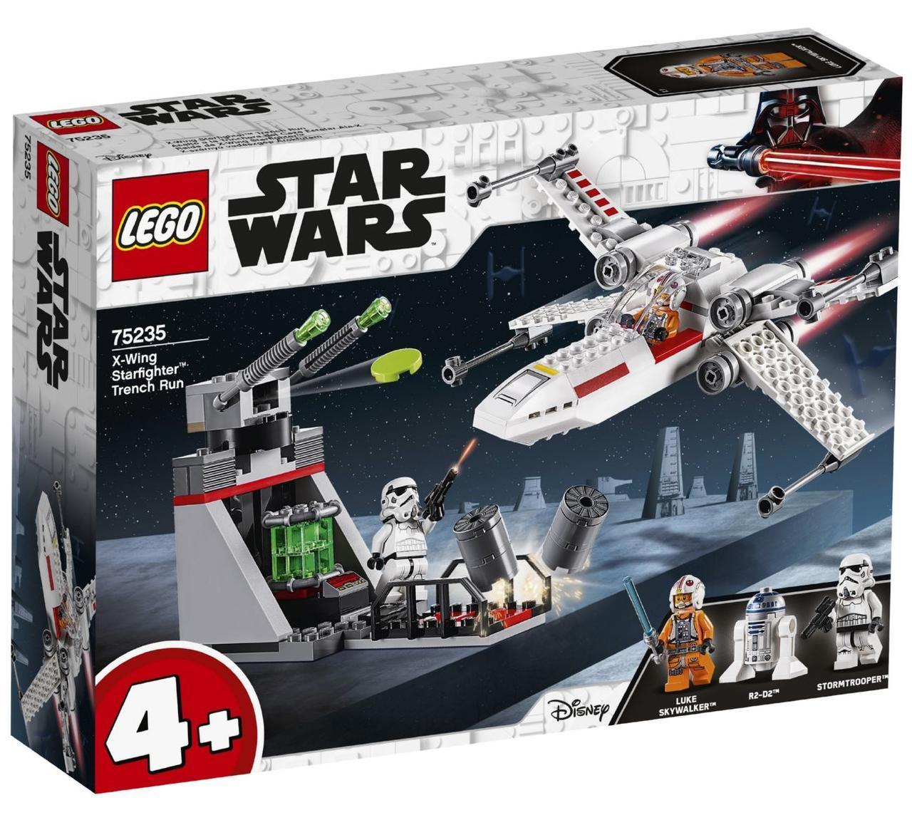 Lego Star Wars Звёздный истребитель типа Х 75235