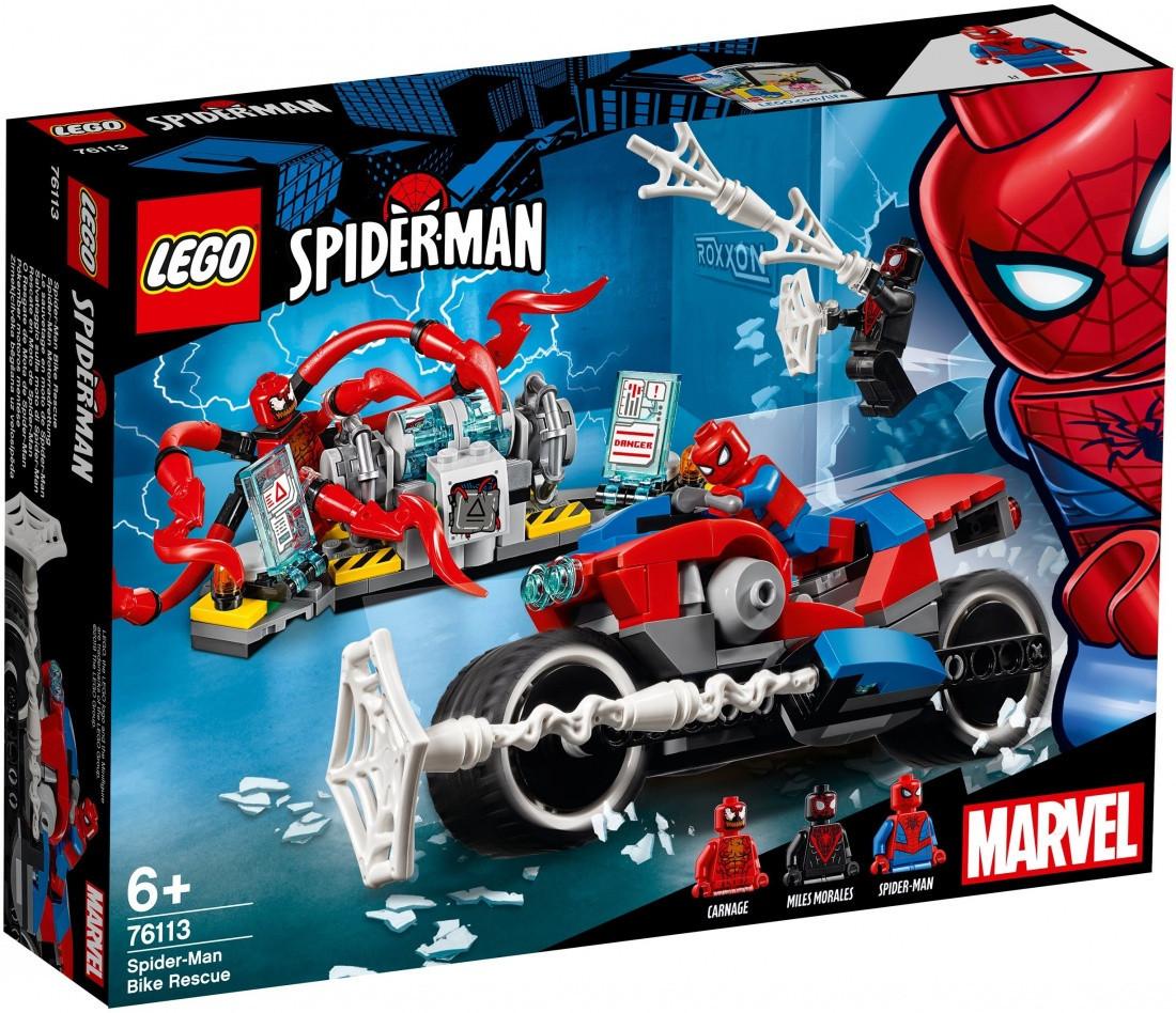 Lego Super Heroes Спасательная операция на мотоцикле 76113