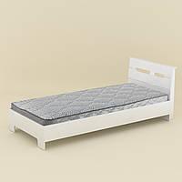 Кровать Компанит 90 х 200 Стиль Белый New-100, КОД: 948812