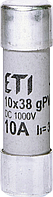Предохранитель ETI CH gPV DC 10Х38 15А 2625080