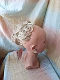Резинка шиньон из волос жемчужный блонд  990-122, фото 2