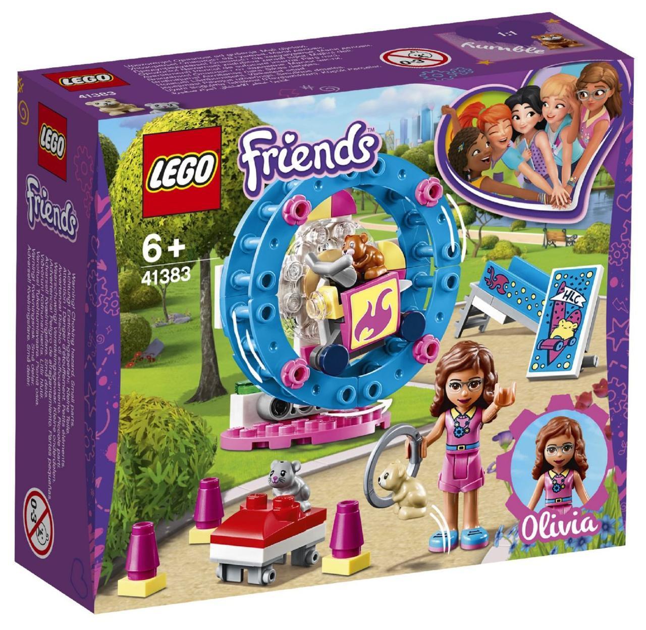 Lego Friends Игровая площадка для хомячка Оливии 41383