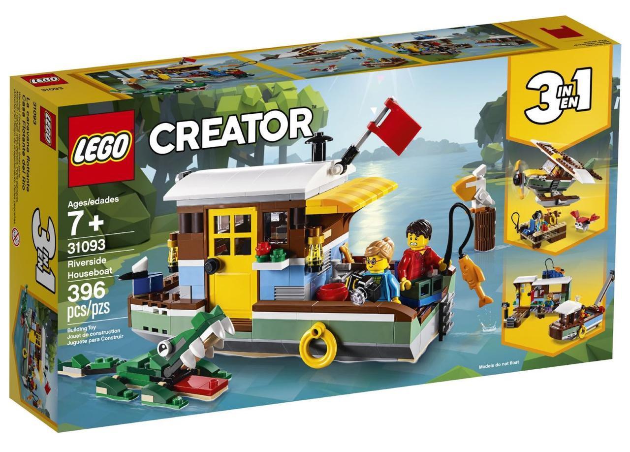 Lego Creator Плавучий дом 31093