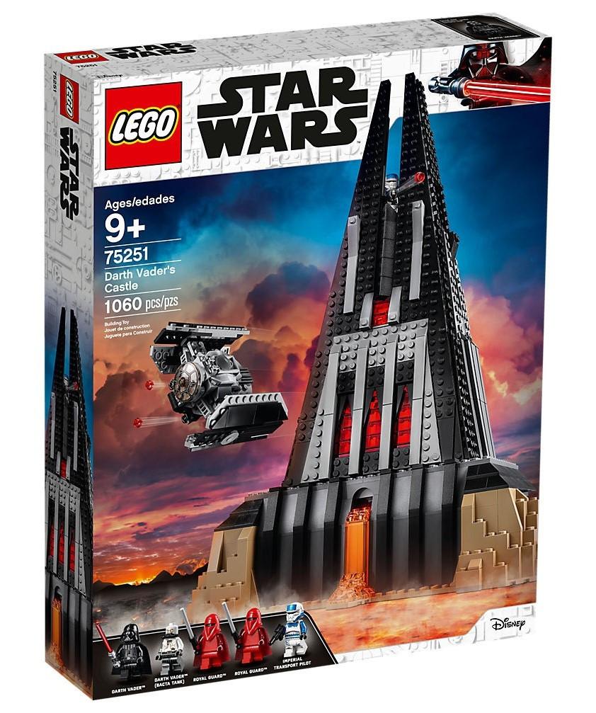 Lego Star Wars Замок Дарта Вейдера 75251