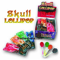 Леденец Скелетон Skull Lollipop 30 шт (Prestige)