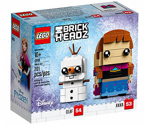 Lego BrickHeadz Анна и Олаф 41618