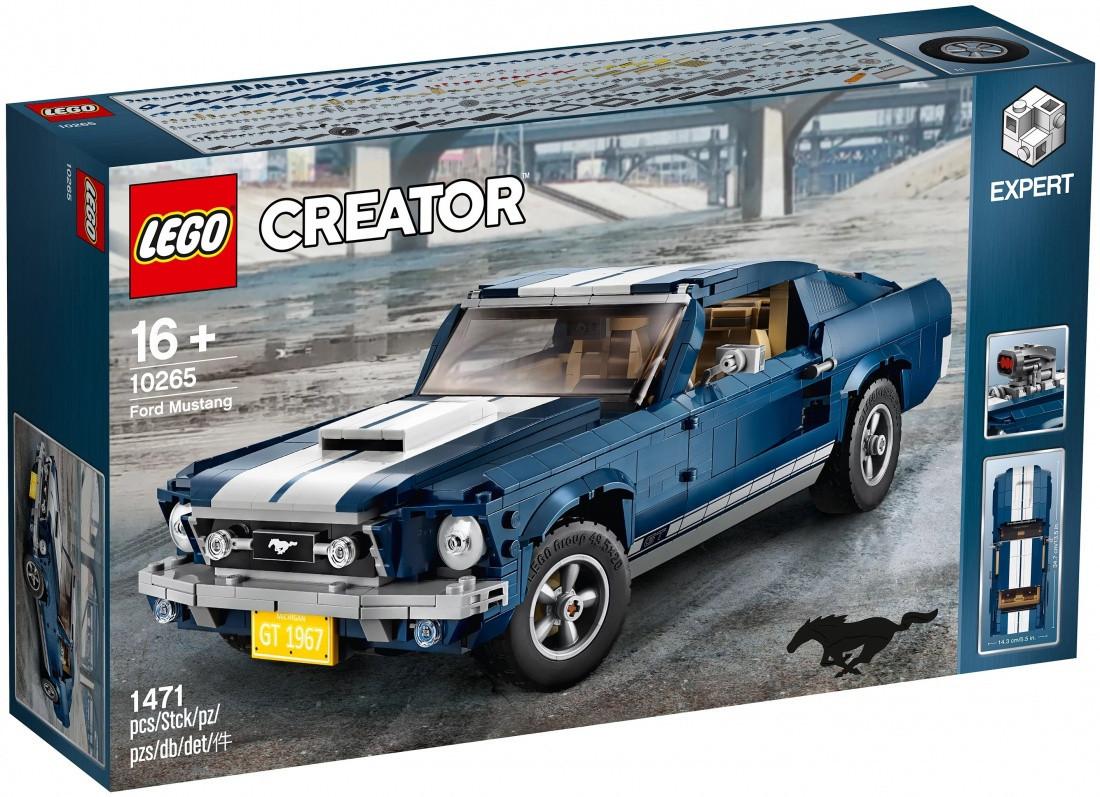 Lego Creator Expert Форд Мустанг 10265