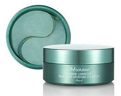 Гидрогелевые патчи с жемчугом JM Solution Marine Luminous Pearl Deep Moisture Eye Patch