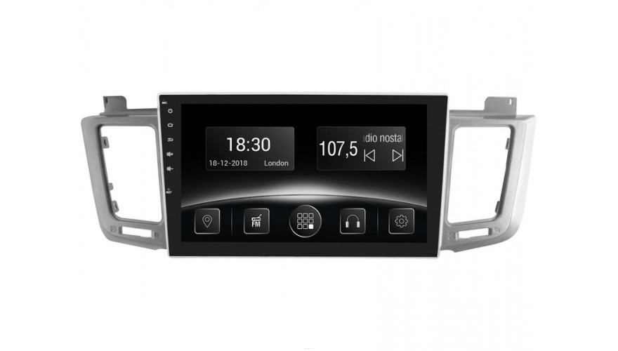 Штатная автомагнитола Gazer CM5510-A40 (Toyota RAV 4 (A40), 2013-2016)
