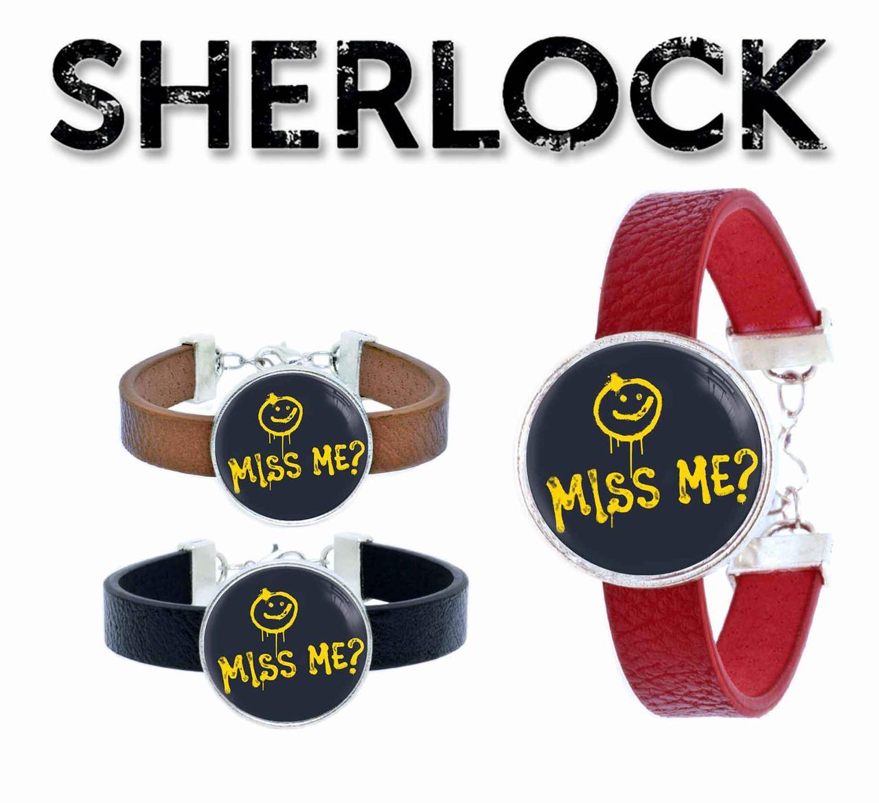 Браслет miss me? Шерлок / Sherlock
