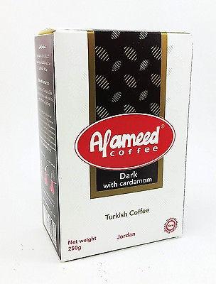 Кофе Алямид Al Ameed Dark с кардамоном 200 грамм