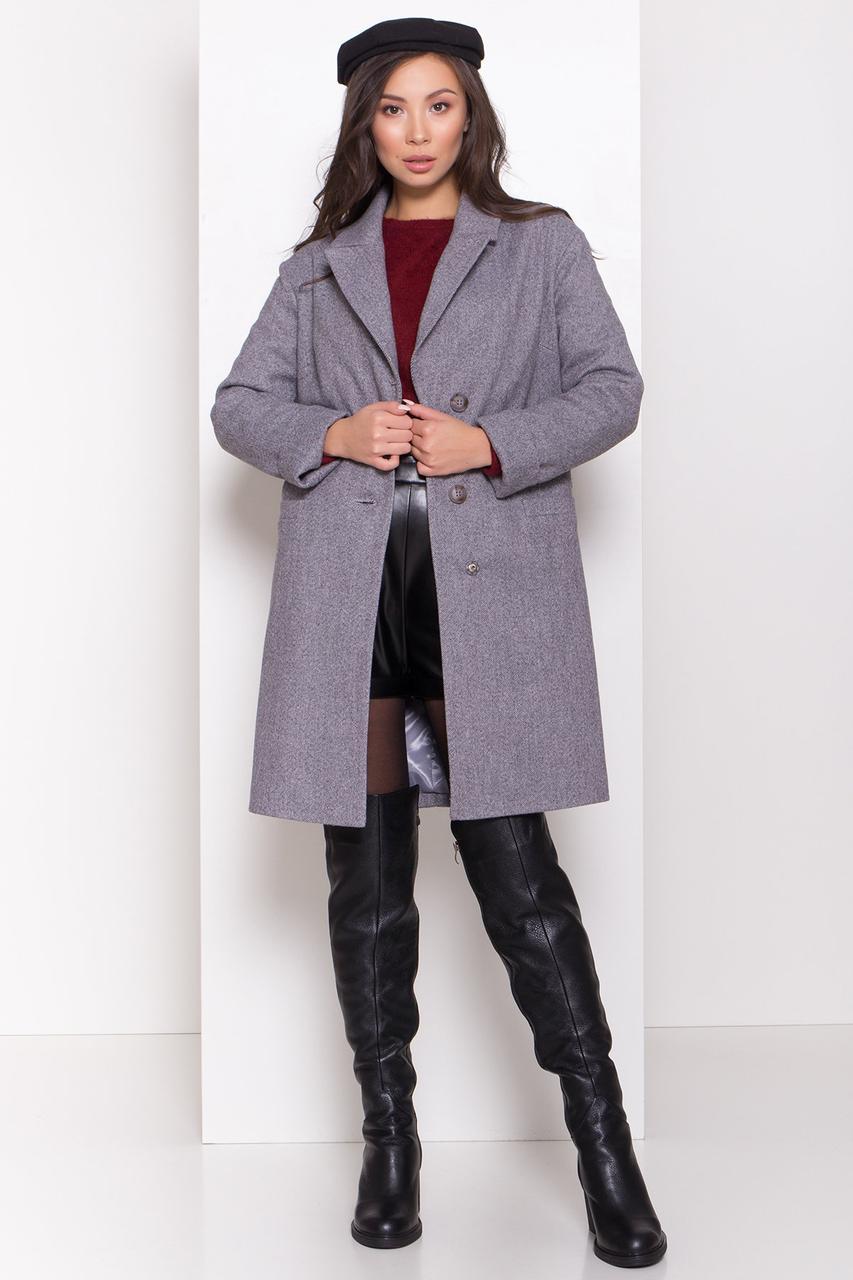 Зимнее утепленное женское пальто (разные цвета, S, M, L, МО-44279)