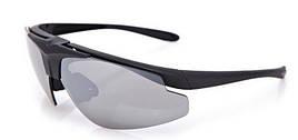 Очки тактические Daisy C1 (3 цвет. линзы, очки для линз с диоптриями, резинка, чехол), жесткий кейс